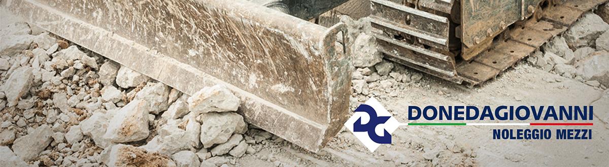 Noleggio attrezzature edili bergamo Doneda noleggio macchinari edilizia Bergamo motocarriole, mini escavatori, pale