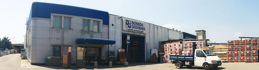 Noleggio attrezzature edili Bergamo Doneda vendita materiali edili e attrezzature edilizia